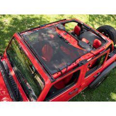 BESTOP Targa Style Sun Bikini Top (Black Mesh) For 18+ Jeep Wrangler JL, JLU & 20+ Gladiator JT 52410-11
