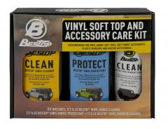 Bestop Three Pack Cleaner and Protectant Kit 11215-00