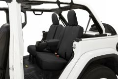BESTOP Rear Seat Cover With Armrest For 2018+ Jeep Wrangler JL Unlimited 4 Door Models 29291-