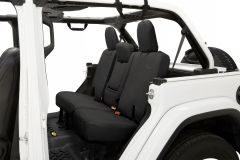 BESTOP Rear Seat Cover Without Armrest For 2018+ Jeep Wrangler JL Unlimited 4 Door Models 29294-