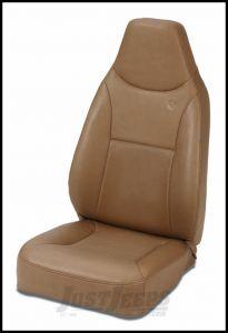 BESTOP TrailMax II Front Fixed Highback Seat In Spice Denim For 1976-06 Jeep CJ Series, Wrangler YJ & Wrangler TJ Models 39436-37