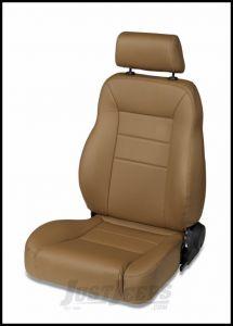 BESTOP TrailMax II Pro Front Reclining Driver Seat In Spice Denim For 1976-06 Jeep CJ Series, Wrangler YJ & Wrangler TJ Models 39451-37