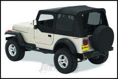 BESTOP Replace-A-Top With Door Skins & Clear Rear Windows In Black Denim For 1988-95 Jeep Wrangler YJ Models 51120-15