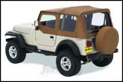 BESTOP Replace-A-Top With Half Door Skins & Clear Windows In Spice Denim For 1997-02 Jeep Wrangler TJ Models 51121-37
