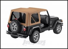 BESTOP Replace-A-Top Factory With Tinted Windows In Spice Denim For 1997-02 Jeep Wrangler TJ 51180-37
