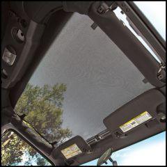 BESTOP Sun Bikini Targa Style Top In Mesh For 2007-18 Jeep Wrangler JK 2 Door & Unlimited 4 Door Models 52400-11