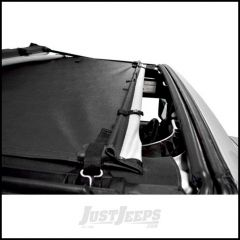 BESTOP Sun Bikini Targa Style Top In Black Diamond For 2007-18 Jeep Wrangler JK 2 Door & Unlimited 4 Door 52400-35