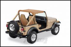 BESTOP Strapless Bikini Top In Spice Denim For 1992-95 Jeep Wrangler YJ 52519-37