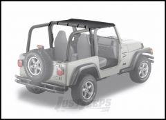 BESTOP Strapless Bikini Top In Black Denim For 1997-02 Jeep Wrangler TJ 52521-15