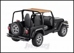 BESTOP Strapless Bikini Top In Spice Denim For 1997-02 Jeep Wrangler TJ 52521-37