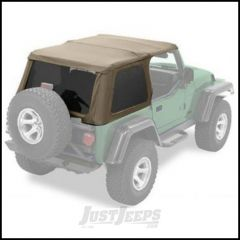 BESTOP Replace-A-Top for Trektop NX In Spice Denim For 1997-06 Jeep Wrangler TJ With Trektop NX 56820 52820-37