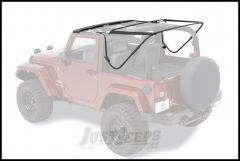 BESTOP Factory Style Hardware & Bow Kit For 2007-18 Jeep Wrangler JK 2 Door 55000-01