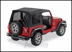 BESTOP SuperTop Replacement Skin With Tinted Windows For 1997-06 Jeep Wrangler TJ Models 55629-35