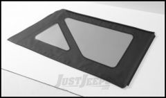 BESTOP Tinted Window Kit For Factory Top & BESTOP Replace-A-Top In Black Denim For 1988-95 Jeep Wrangler YJ 58120-15