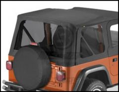 BESTOP Tinted Window Kit For Factory Original & Replace-A-Top In Black Diamond For 1997-02 Jeep Wrangler TJ 58121-35