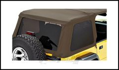 BESTOP Tinted Window Kit For BESTOP Trektop NX In Spice Denim For 1997-06 Jeep Wrangler TJ 58220-37