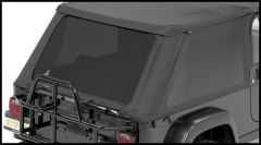 BESTOP Tinted Window Kit For BESTOP Trektop NX In Black Diamond For 2004-06 Jeep Wrangler TLJ Unlimited 58221-35