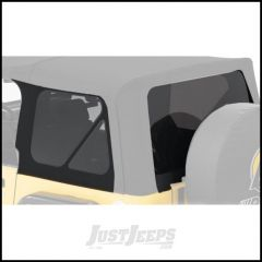 BESTOP Tinted Window Kit For BESTOP Supertop NX In Black Twill For 1997-06 Jeep Wrangler TJ 58440-17