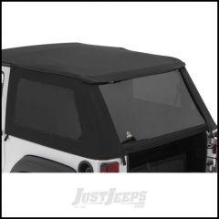 BESTOP Tinted Window Kit For BESTOP Replace-A-Top NX In Black Twill For 2007-09 Jeep Wrangler JK 2 Door 58446-17