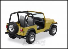 BESTOP Sport Bar Covers In Black Denim For 1992-95 Jeep Wrangler YJ 80009-15