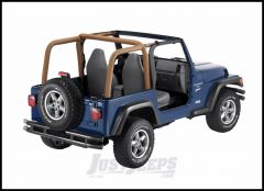 BESTOP Sport Bar Covers In Spice Denim For 1997-02 Jeep Wrangler TJ 80020-37
