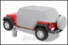 BESTOP All Weather Trail Cover In Charcoal For 2004-06 Jeep Wrangler TLJ Unlimited 81038-09