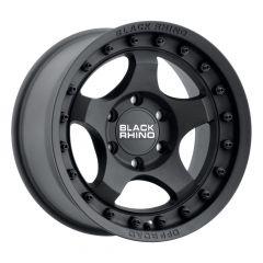 Black Rhino Bantam Wheel in 18x9 with 4.53in Backspace Textured Black 1890BTM-25127M71