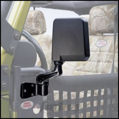 Body Armor 4X4 Mirrors Set For Trail Doors For 1997-18 Jeep Wrangler TJ & JK 2 Door & Unlimited 4 Door Models