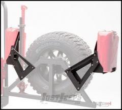Body Armor 4X4 Gas Can Mount Kit For 1987-2011 Jeep Wrangler YJ, TJ, JK 2 Door & Unlimited 4 Door Models