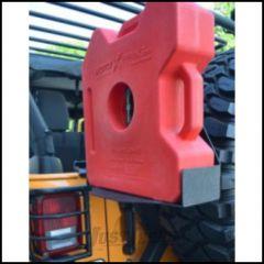 Body Armor 4X4 Roto-Pax Gas Can Cradle For 1987-18 Jeep Wrangler YJ, TJ, JK 2 Door & Unlimited 4 Door Models