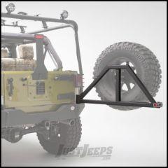 Body Armor 4X4 Swing Arm For Body Armor 4x4 Rear Bumpers With Loop Style Handle In Black Powder Coat For 1997-18 Jeep Wrangler TJ & JK 2 Door & Unlimited 4 Door Models