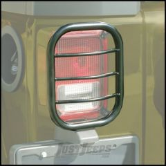 Body Armor 4X4 Flat Design Tail Light Guards For 2007-18 Jeep Wrangler JK 2 Door & Unlimited 4 Door Models