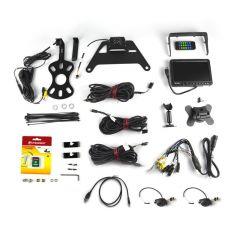 Brand Motion Quad-Camera with DVR System For 2007-18 Jeep Wrangler JK 2 Door & Unlimited 4 Door Models