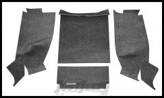 BedRug Premium Carpeted Rear Floor Covering For 1987-95 Jeep Wrangler YJ BRYJ87R