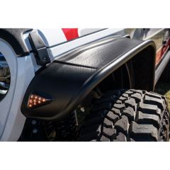 Bushwacker Flat Style Fender Flare Set For 2020+ Jeep Gladiator JT 10928-07