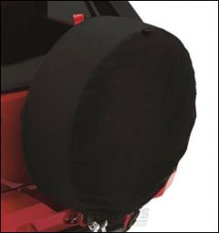 """BESTOP Tire Cover For 35"""" X 14"""" Or 255/70R To 315/85R Size Tires In Black Twill 61035-17"""