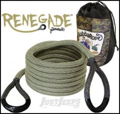 "Bubba Rope Renegade 3/4"" x 20' Recovery Rope With A 19,000 lbs. Breaking Strength"
