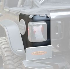 Bushwacker Trail Armor Rear Corners For 2018+ Jeep Wrangler JL 2 Door & Unlimited 4 Door Models