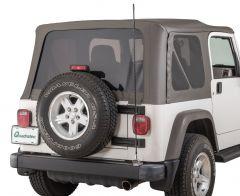 Quadratec CB Antenna Mount Kit for 97-06 Jeep Wrangler TJ & Unlimited 96080.51