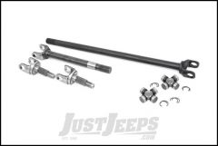 Rough Country Dana 30 Front 27 Spline 4340 Chromoly Replacement Axle Shaft Kit With Spicer 1350 U-Joints For 2007-18 Jeep Wrangler JK 2 Door & Unlimited 4 Door Models RCW24170