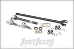 Rough Country Dana 30 Front 27 Spline 4340 Chromoly Replacement Axle Shaft Kit For 1987-06 Jeep Wrangler YJ & TJ Models & 1984-01 4WD Jeep Cherokee & 1993-04 Jeep Grand Cherokee ZJ & WJ RCW24110