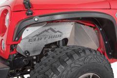 Cliffride Dishpan Inner Fender Well Liners for 07-18 Jeep Wrangler JK, JKU 19011