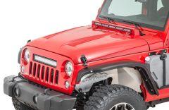Cliffride Lucerne Fiberglass Hoods for 07-18 Jeep Wrangler JK, JKU