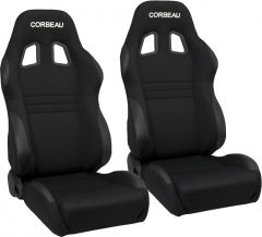 Corbeau A4 Reclining Racing Seat Pair for Jeep CJ-7, Wrangler YJ, TJ, JK & Unlimited 24223A4-