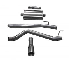 Corsa Performance dB Performance Axle Back Exhaust System Sport For 2020+ Jeep Gladiator JT 4 Door Models 21060-