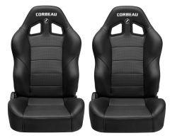 Corbeau Baja XRS Reclining Suspension Seat Pair for 76-18 Jeep Wrangler YJ, TJ, JK, Unlimited, CJ-7 & CJ-8 Scrambler BAJARXS-