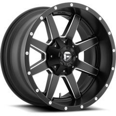 Fuel Off-Road D538 Maverick Wheel in Matte Black with Machined Accents 17x9 with 4.5in Backspace D53817902645