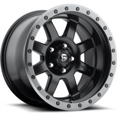 Fuel Off-Road D551 Trophy Wheel In Satin Black 17x8.5 with 4.5in Backspace D55117857345
