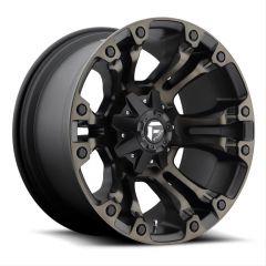 Fuel Off-Road D569 Vapor Wheel in Matte Black 20x9 with 5.0in Backspace D56920902650
