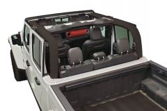 Dirtydog 4X4 Roll Bar Covers for 2020+ Jeep Gladiator JT Hardtop Version JT4RBC-
